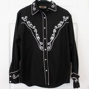 Bedazzled Pearl Snap Western Shirt
